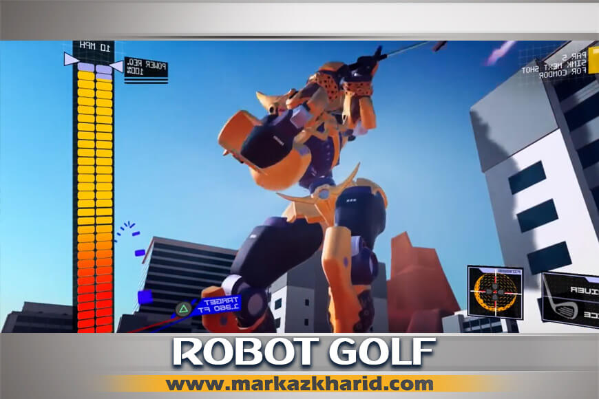 جزئیات وبررسی آپدیت بازی ۱۰۰ft Robot Golf برای کنسول PS4 VR