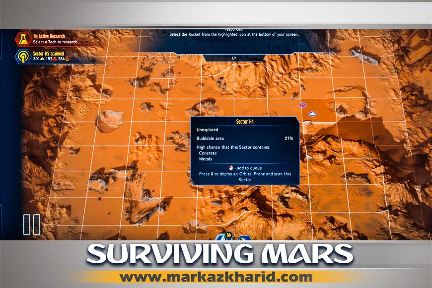 جزئیات و بررسی معرفی بازی شهرسازی Surviving Mars PS4 کمپانی Haemimont