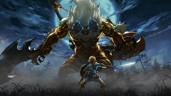مبارزات در بازی The Legend of Zelda : Breath of the Wild