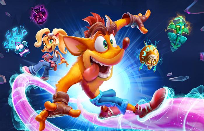 رازهای بازی Crash Bandicoot