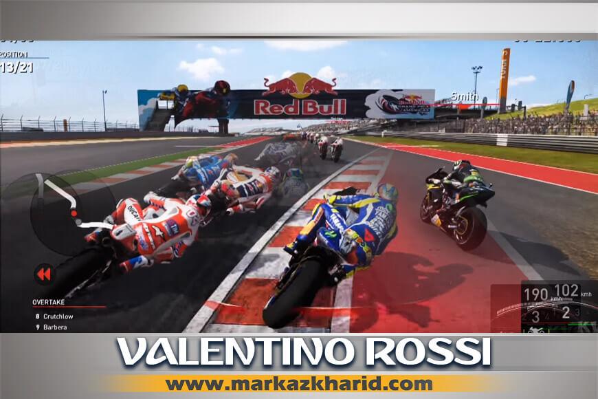 جزئیات و بررسی ویدیوی بازی Valentino Rossi The Games PS4 کمپانی Milestone S.r.l