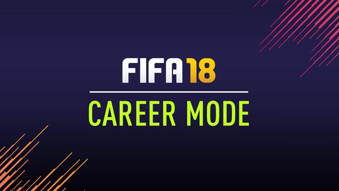 بخش Career Mode بازی Fifa 18