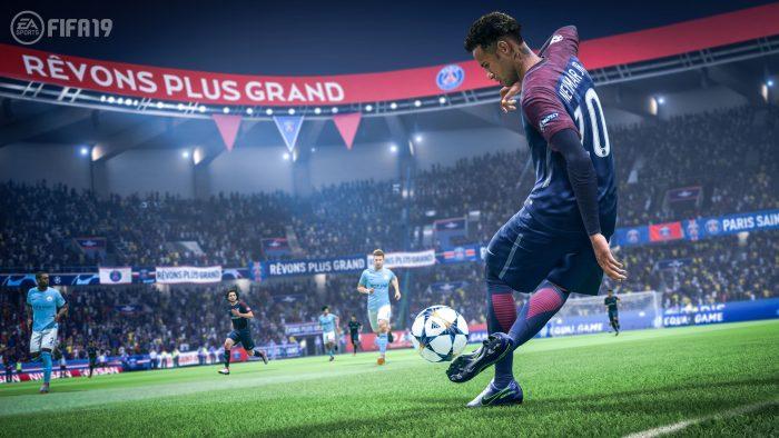 بازی FIFA19 کمپانی Electronic Arts