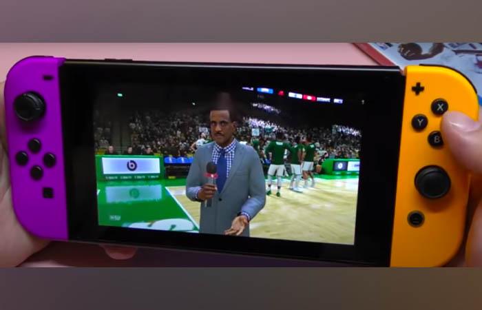 بازی NBA 2K21 نینتندو سوییچ