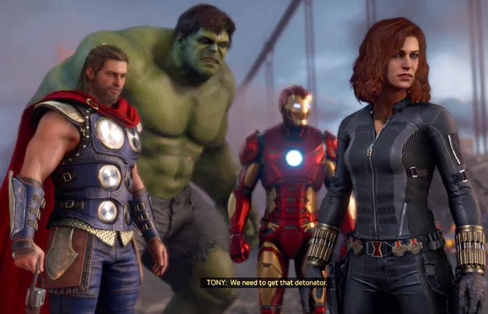 بازی Marvel's Avengers PS4