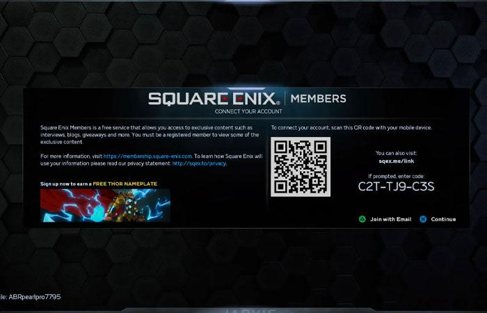 نحوه اتصال به حساب Square Enix در Marvel's Avengers