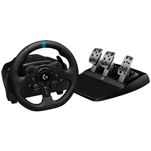 Logitech G923 Racing Wheel and Pedals for Playstation 4