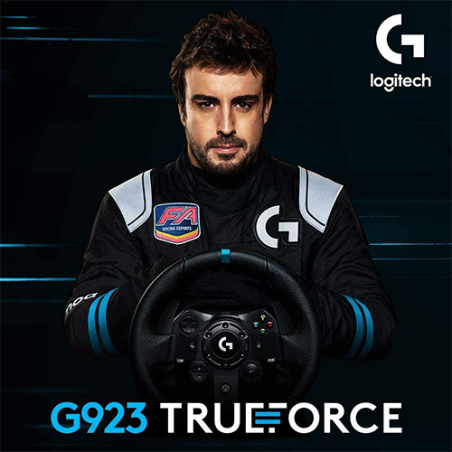 Logitech G923 Racing Wheel and Pedals for Xbox