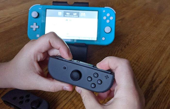 آموزش اتصال جوی کان به Nintendo Switch lite