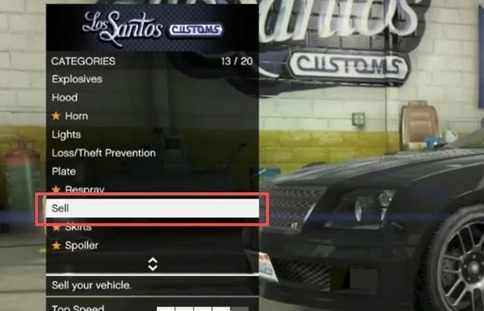 فروش ماشین در جی تی ای آنلاین