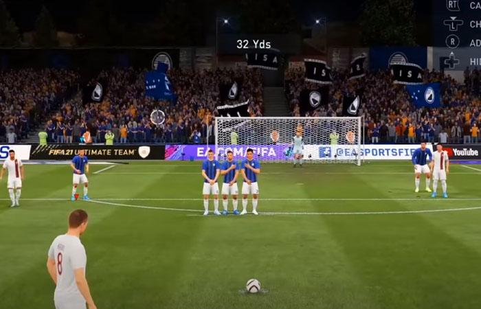 آموزش زدن ضربه آزاد ایستگاهیی در FIFA 21
