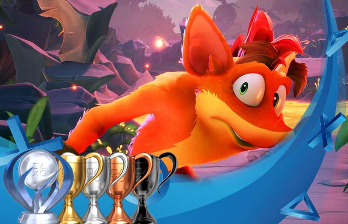لیست تروفی های بازی Crash Bandicoot 4 its about time