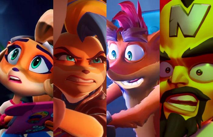 خرید بازی Crash Bandicoot 4 : It's About Time برای پلی استیشن 4