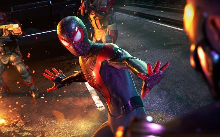 داستان Spider man Miles morales