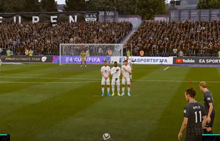 آموزش زدن کاشته در FIFA 21