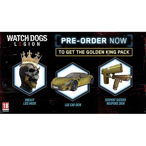 بازی Watch Dogs Legion پلی استیشن 4