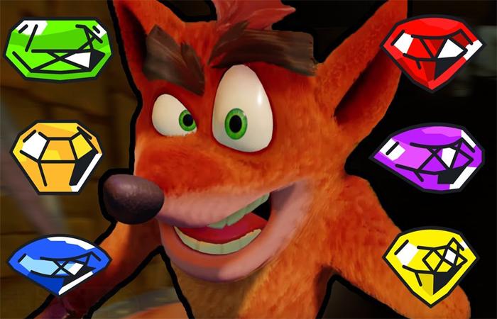 الماس های مخفی در بازی Crash 4