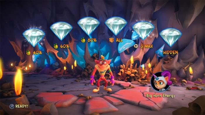 راهنمای الماس ها در Crash 4