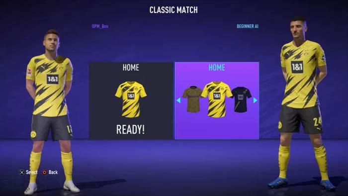کیت های بازی FIFA 21