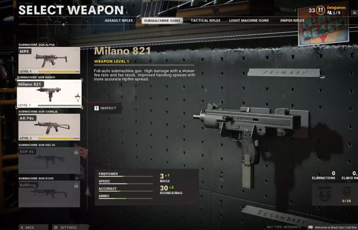 اسلحه های بازی Black ops Cold war