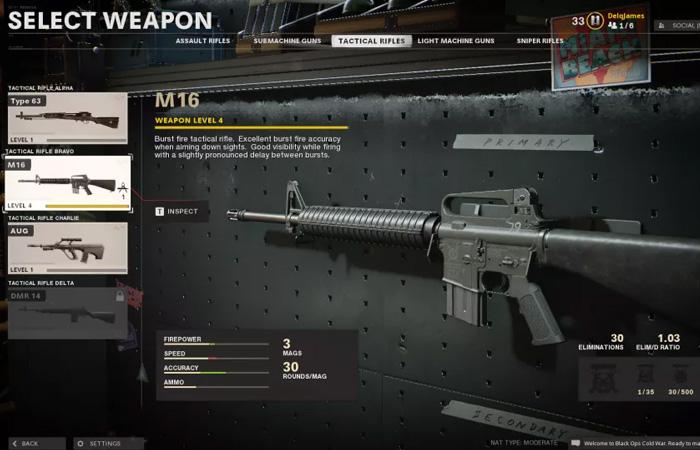 اسلحه M16 بلک اپس
