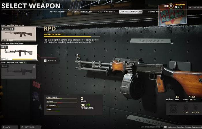 بهترین سلاح های بازی Black ops Cold war