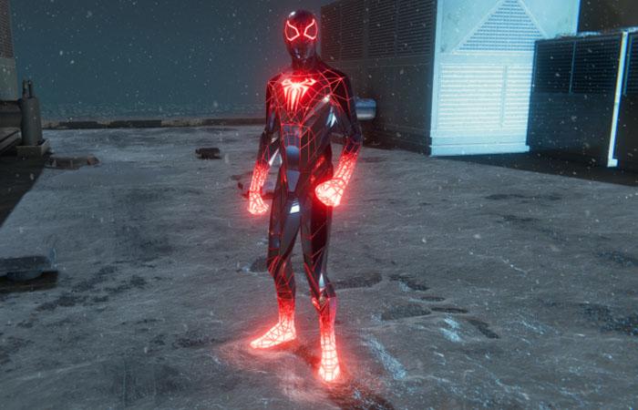 لباس Programmable Matter Suit اسپایدرمن مایلز مورالز