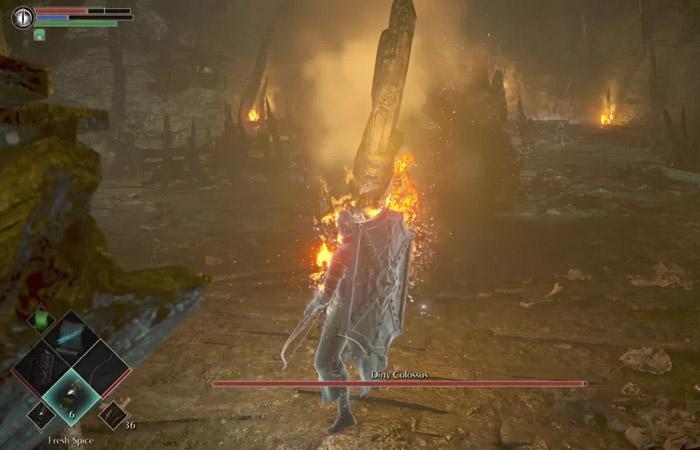 نحوه شکست باس Dirty Colossus در بازی Demon's Souls