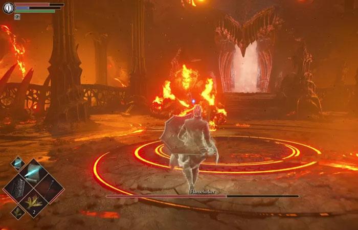 نحوه شکست باس Flamelurker در بازی Demon's Souls
