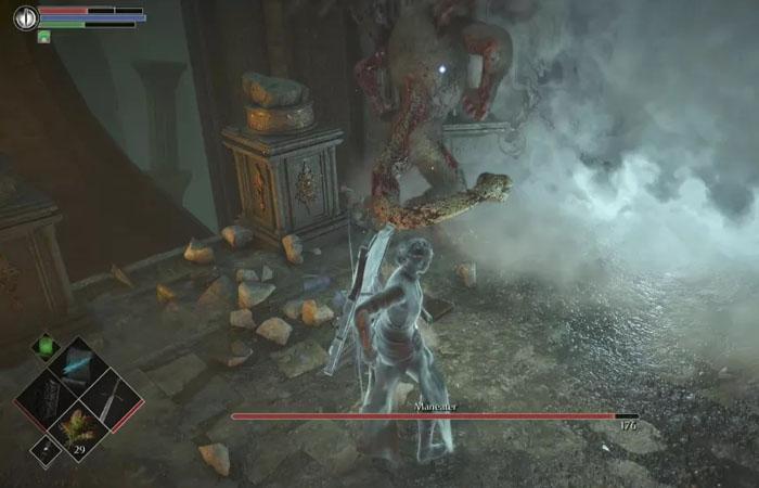 نحوه شکست باس Maneater در بازی Demon's Souls