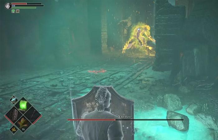 نحوه شکست باس Old Hero در بازی Demon's Souls