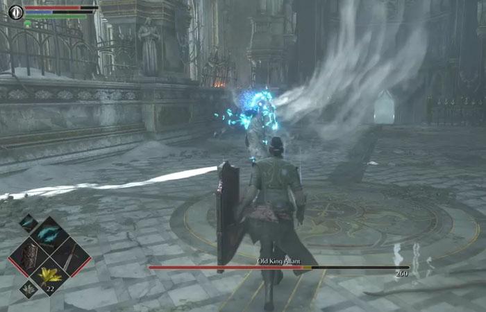 نحوه شکست باس Old King Allant در بازی Demon's Souls