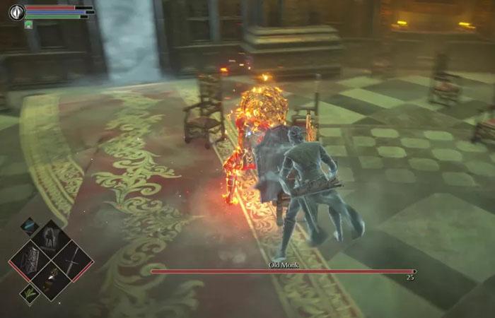 نحوه شکست باس Old Monk در بازی Demon's Souls