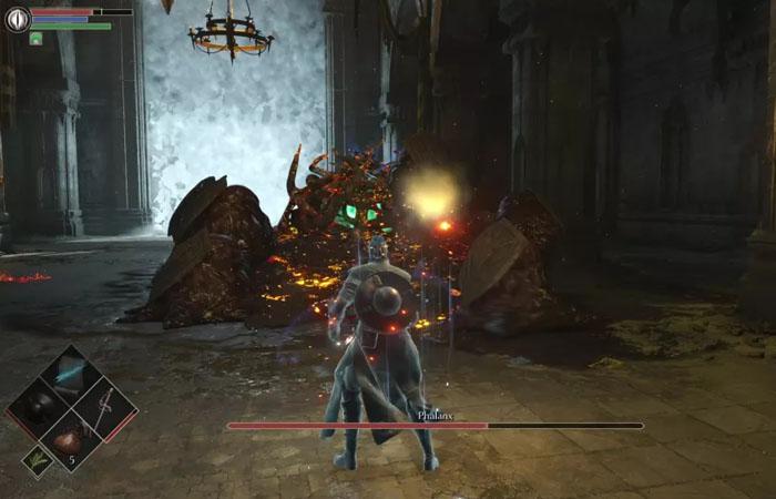 نحوه شکست باس Phalanx در بازی Demon's Souls