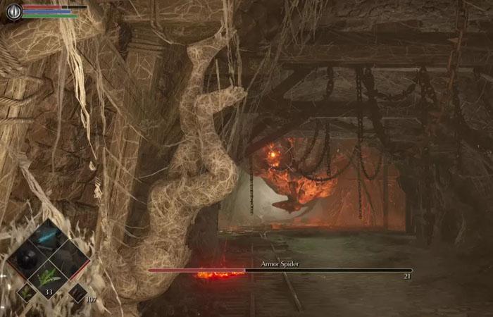 نحوه شکست رئیس Armor Spider در بازی Demon's Souls
