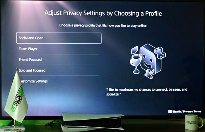 How to make psn PS5 account