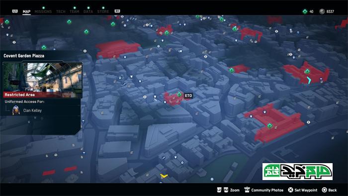 نقشه بازی Watch Dogs: Legion