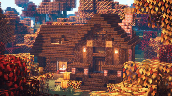 خانه های زیبا در Minecraft