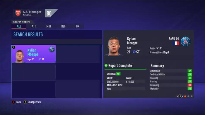 بازیکنان جوان FIFA 21