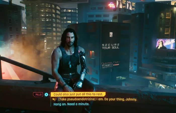 پایان مخفی Cyberpunk 2077