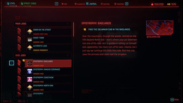 ارتقا سطح در سایبرپانک 2077