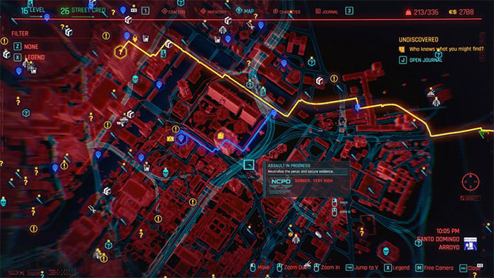 سفر سریع در سایبرپانک 2077