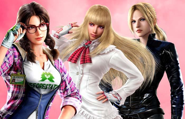 برترین شخصیت های زن تیکن