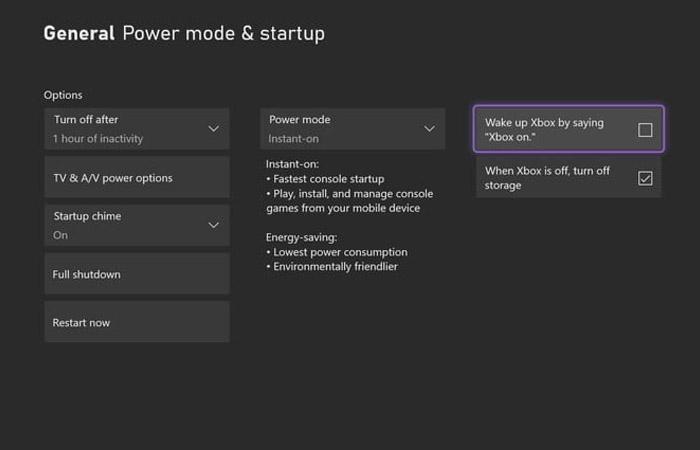 Startup و Power Mode را تنظیم نمایید