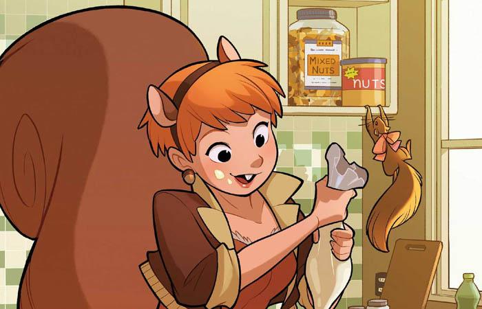 دختر سنجابی