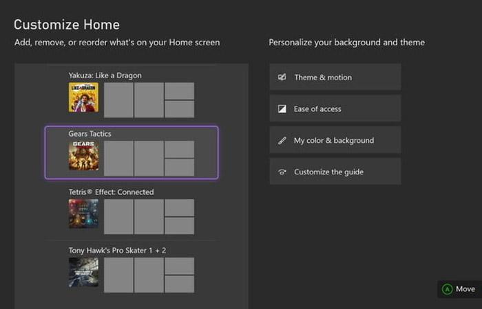 تنظیمات Xbox Series s