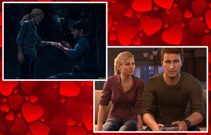 لحظات عاشقانه بازی