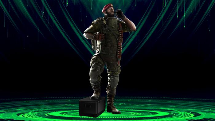 اپراتور رینبو سیکس قرنطینه