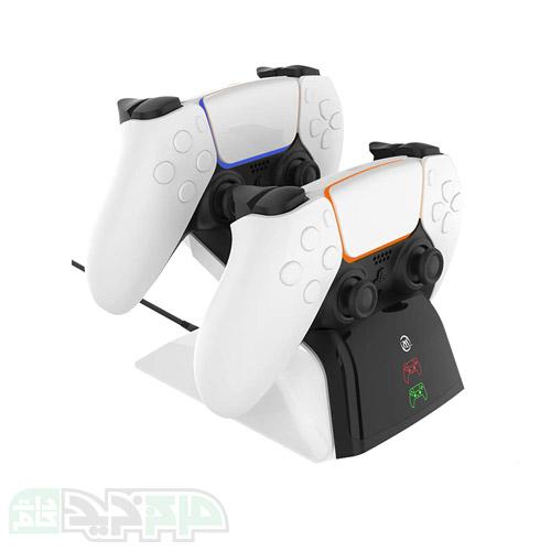 پایه شارژ دوگانه JYS برای کنترلر دوال سنس