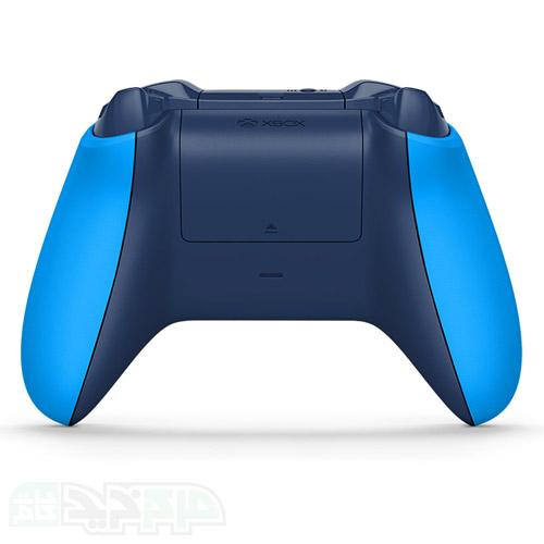 دسته بازی ایکس باکس وان اس رنگ آبی